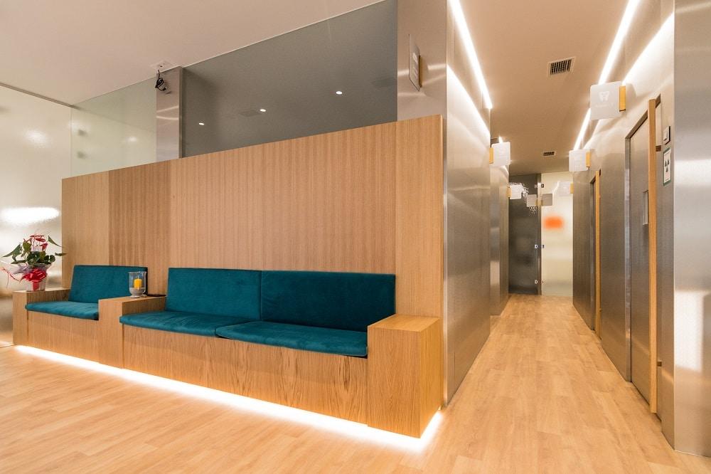 Sala de espera dentista Valladolid