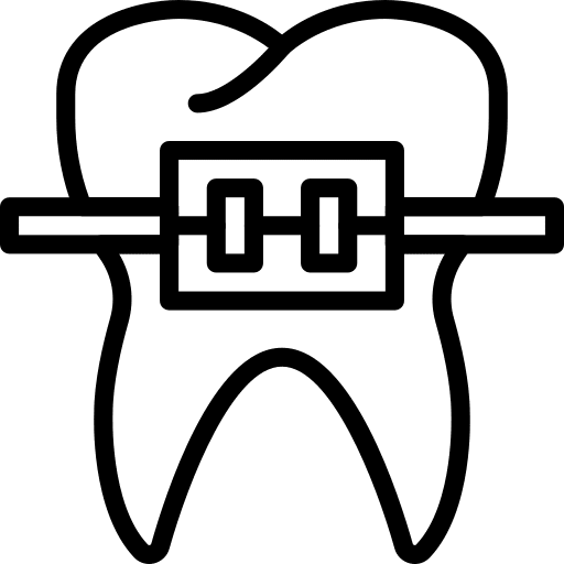 Brackets convencionales o estándar clínica dental Valladolid