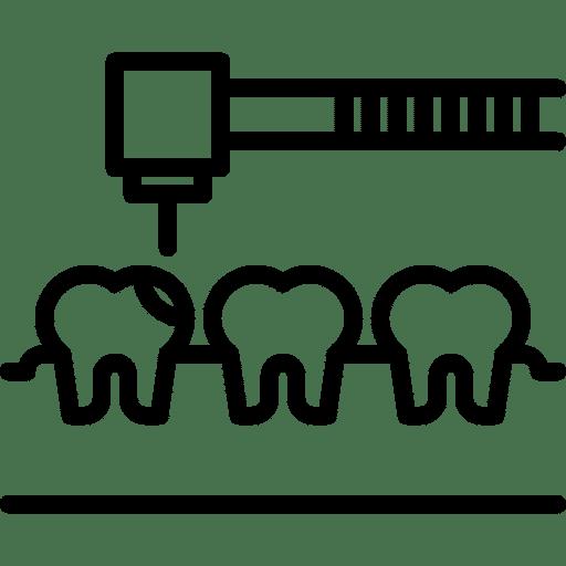 Contorneado dental clínica dental Valladolid