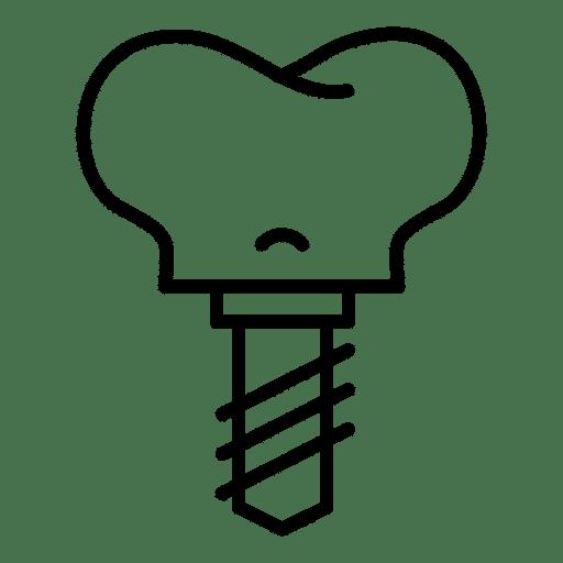 Corona de metal clínica dental Valladolid